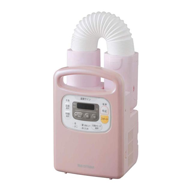 IRISOHYAMAアイリスオーヤマふとん乾燥機カラリエFK-C3-Pピンク|タイマー付き布団乾燥くつ乾燥ダニ湿気カビニオイ対策