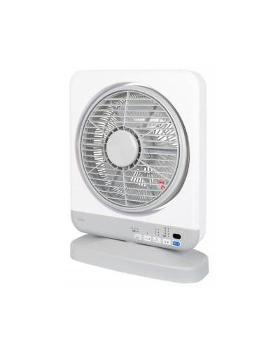 ゼピールフルリモコンボックス扇風機DBF-J230H-WHホワイト|空調