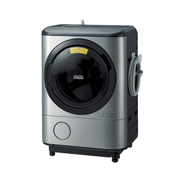 基本設置無料 東京23区近郊限定配送 【アウトレット】 日立 ドラム式洗濯乾燥機 BD-NX120CR-S 12kg 右開き ステンレスシルバー