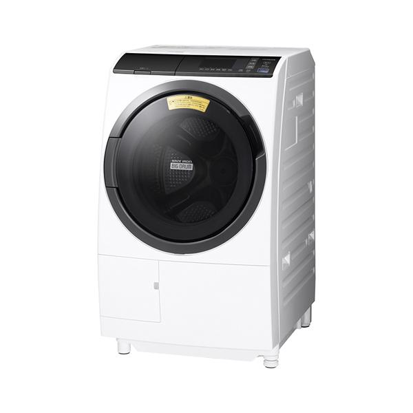 基本設置無料 東京23区近郊限定配送 【アウトレット】 日立 ドラム式洗濯乾燥機 BD-SG100EL-W 10kg 左開き ホワイト