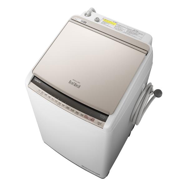 基本設置無料 東京23区近郊限定配送 【アウトレット】 日立 タテ型洗濯乾燥機 ビートウォッシュ BW-DV100E-N 10kg シャンパン
