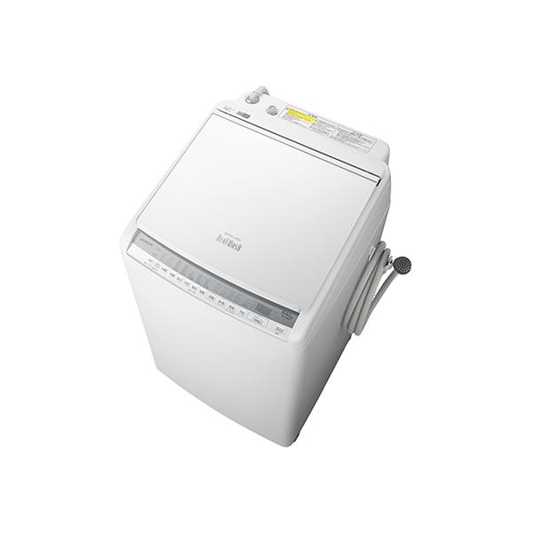 基本設置無料 東京23区近郊限定配送 【アウトレット】 日立 洗濯乾燥機 ビートウォッシュ BW-DV80F-W 8kg ホワイト