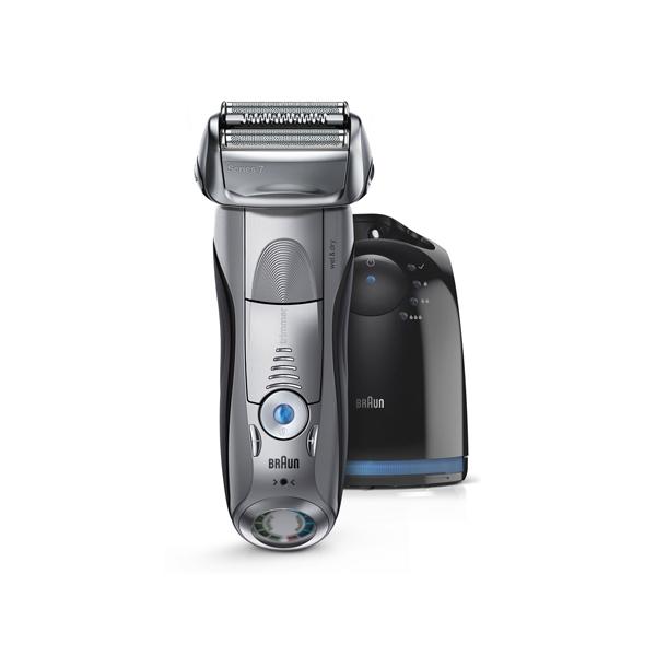 【送料無料】 ブラウン シリーズ7 メンズ電気シェーバー 7898CC-P 洗浄器付モデル マットシルバー
