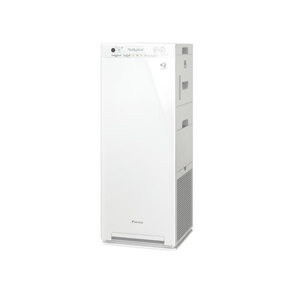 【送料無料】 ダイキン 加湿 ストリーマ空気清浄機 MCK55X-W -25畳用 ホワイト