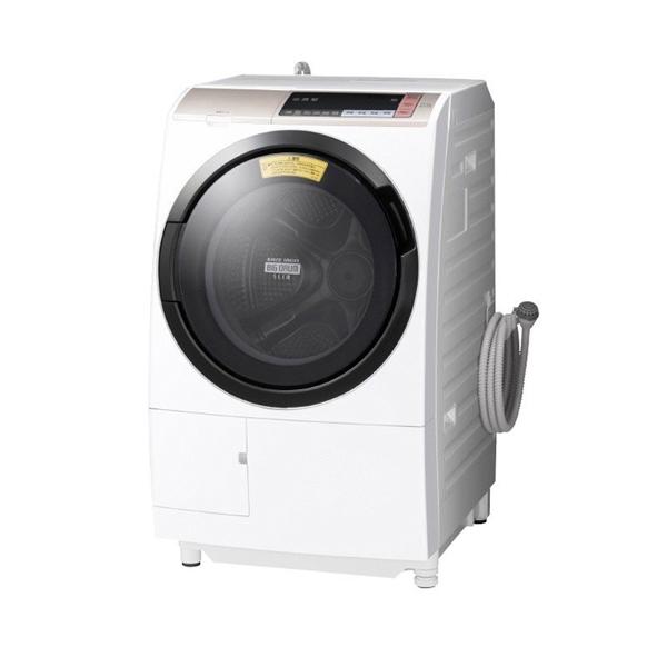 基本設置無料 東京23区近郊限定配送  日立 ドラム式洗濯乾燥機 ビッグドラム BD-SV110BR-N 11kg 右開き シャンパン