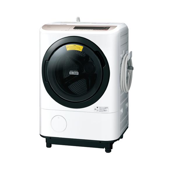 基本設置無料 東京23区近郊限定配送 日立 ドラム式洗濯乾燥機 ビッグドラム BD-NV120CL-N 12kg 左開き シャンパン