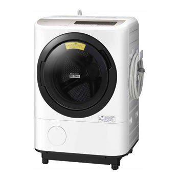 基本設置無料 東京23区近郊限定配送 日立 ドラム式洗濯乾燥機 ビッグドラム BD-NV120CR-N 12kg 右開き シャンパン