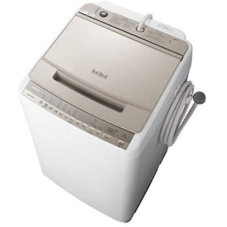 基本設置無料 東京23区近郊限定配送 日立 全自動洗濯機 ビートウォッシュ BW-V90F(W) 9kg シャンパン