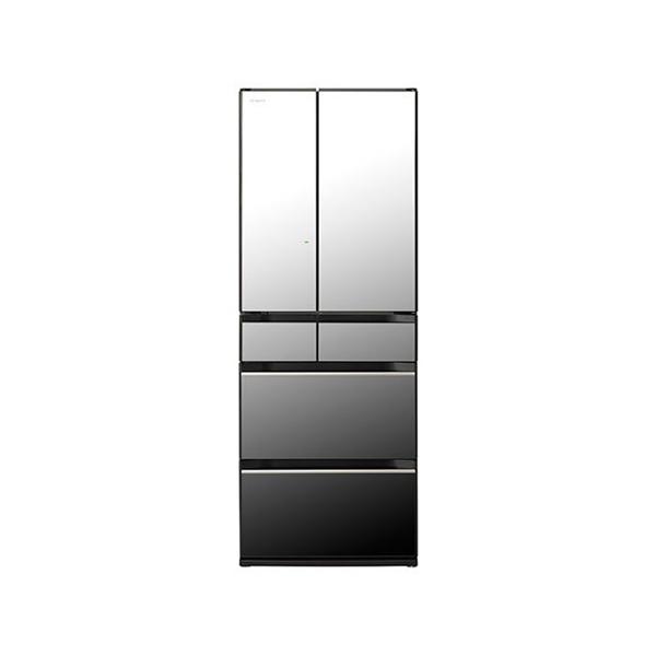 【検証用】 東京 埼玉 千葉 神奈川エリア限定 標準設置込 日立 冷蔵庫 フレンチ 6ドア HXタイプ R‐HX60R‐X 602L クリスタルミラー
