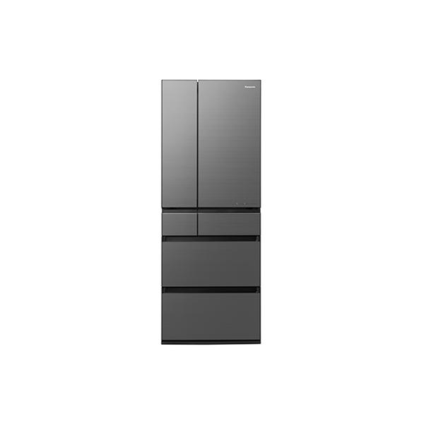 基本設置無料 東京23区近郊限定配送 パナソニック 600L パーシャル搭載 冷蔵庫 NR-F606WPX-H ミスティスチールグレー