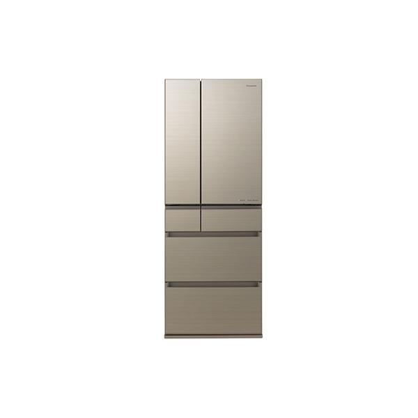 基本設置無料 東京23区近郊限定配送 パナソニック 550L パーシャル搭載 冷蔵庫 NR-F556HPX-N アルベロゴールド