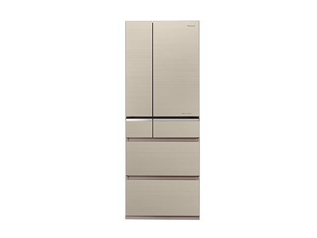 基本設置無料 東京23区近郊限定配送 パナソニック パーシャル搭載 冷蔵庫 NR-F506XPV-N 501L フレンチドア マチュアゴールド