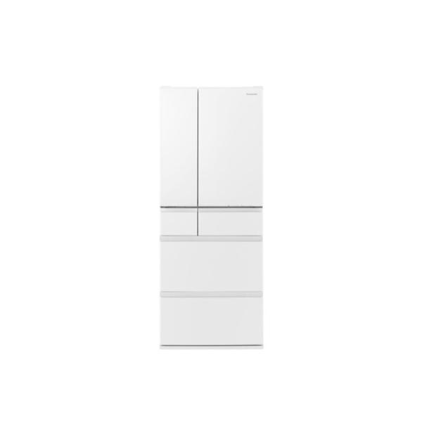 東京 埼玉 千葉 神奈川エリア限定 パナソニック 483L 大容量冷蔵庫 NR-F486MEX-W フレンチドア セラミックホワイト