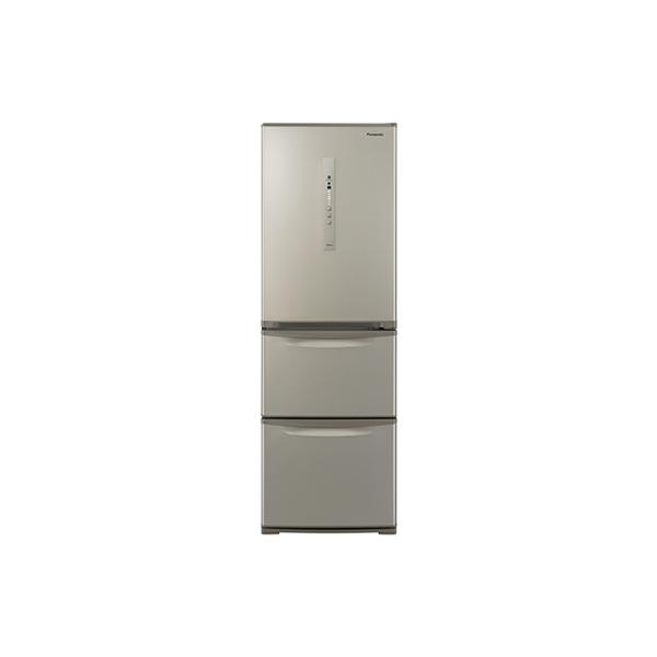 基本設置無料 東京23区近郊限定配送 パナソニック ノンフロン冷凍冷蔵庫 NR-C371N-N 365L 右開き シルキーゴールド