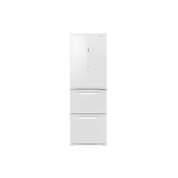 基本設置無料 東京23区近郊限定配送 パナソニック ノンフロン冷凍冷蔵庫 NR-C371N-W 365L 右開き ピュアホワイト