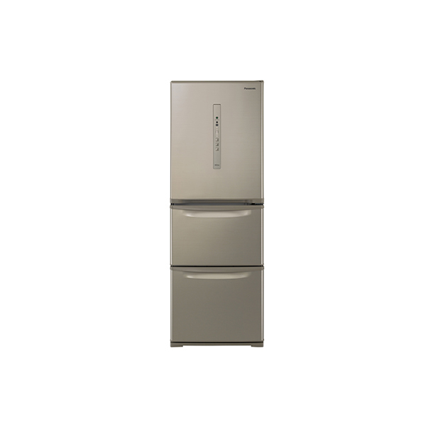 基本設置無料 東京23区近郊限定配送 パナソニック ノンフロン冷凍冷蔵庫 NR-C341C-N 335L 右開き シルキーゴールド