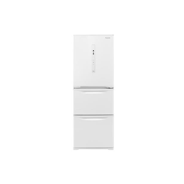基本設置無料 東京23区近郊限定配送 パナソニック ノンフロン冷凍冷蔵庫 NR-C341C-W 335L 右開き ピュアホワイト