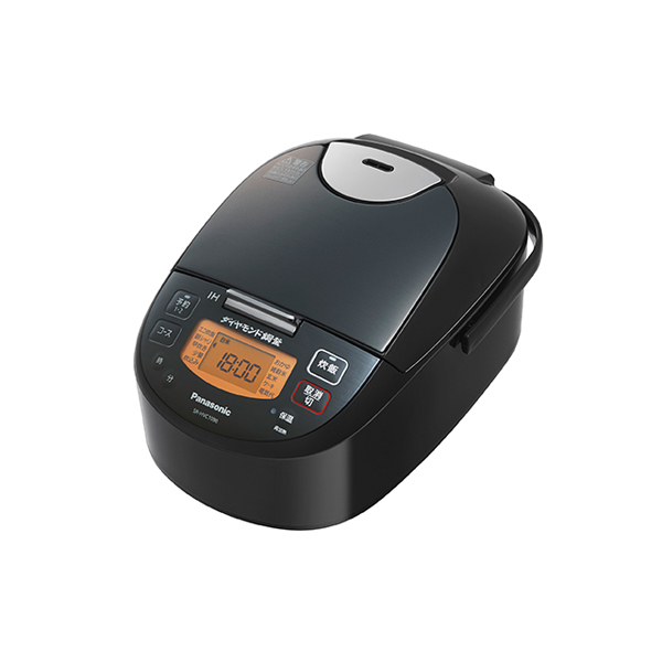 パナソニック IHジャー炊飯器 SR-HVC1090-K 0.5-5.5合 ステンレスブラック