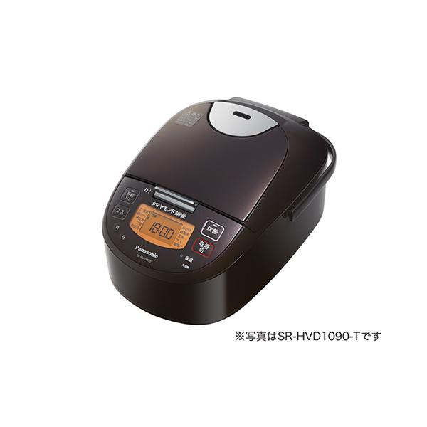 パナソニック IHジャー炊飯器 SR-HVD1890-T 1合-1升 ブラウン
