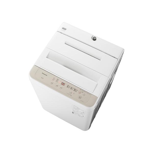 基本設置無料 東京23区近郊限定配送 パナソニック 全自動洗濯機 NA-F60B14-C 6kg ニュアンスベージュ