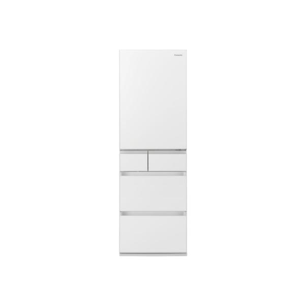東京 埼玉 千葉 神奈川エリア限定 標準設置込 条件付きで処分無料 パナソニック 大容量冷蔵庫 NR‐E457PX‐W 450L 右開き スノーホワイト