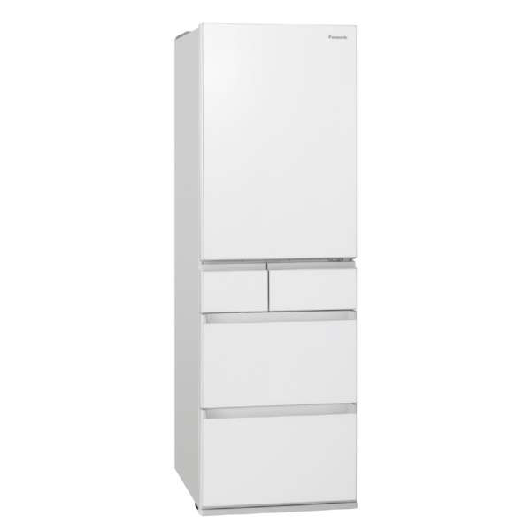 東京 埼玉 千葉 神奈川エリア限定 標準設置込 条件付きで処分無料 パナソニック 大容量冷蔵庫 NR‐E457PXL‐W 450L 左開き スノーホワイト