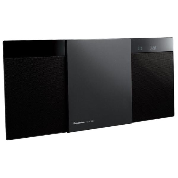 パナソニック コンパクトステレオシステム SC-HC320-K ブラック