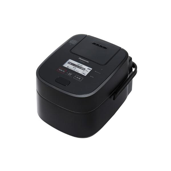 パナソニック SR‐VSX101‐K スチーム & 可変圧力 IHジャー 炊飯器 SR‐VSX1シリーズ 0.5‐5.5合 ブラック