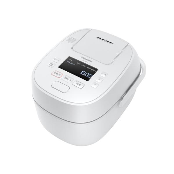 パナソニック 可変 圧力 IH ジャー炊飯器 SR‐MPW101‐W 0.5‐5.5合 ホワイト