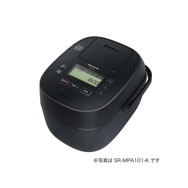 パナソニック 可変 圧力 IH ジャー炊飯器 SR‐MPA181‐K 1‐10合 ブラック