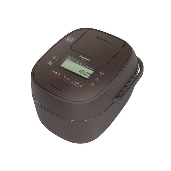パナソニック 可変 圧力 IH ジャー炊飯器 SR‐MPA101‐T 0.5‐5.5合 ブラウン