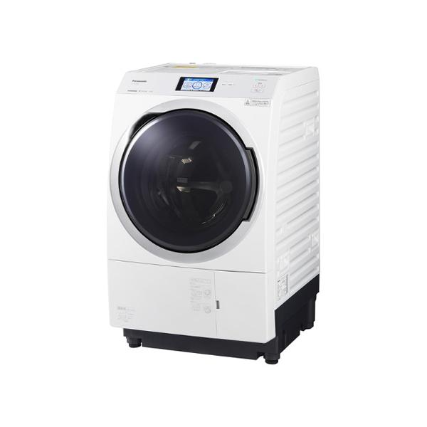 基本設置無料 東京23区近郊限定配送 パナソニック ななめドラム洗濯乾燥機 NA-VX900BL-W 11kg 右開き クリスタルホワイト