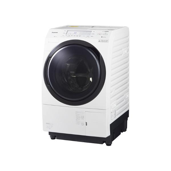 基本設置無料 東京23区近郊限定配送 パナソニック ななめドラム洗濯乾燥機 NA-VX700BL-W 10kg 左開き クリスタルホワイト