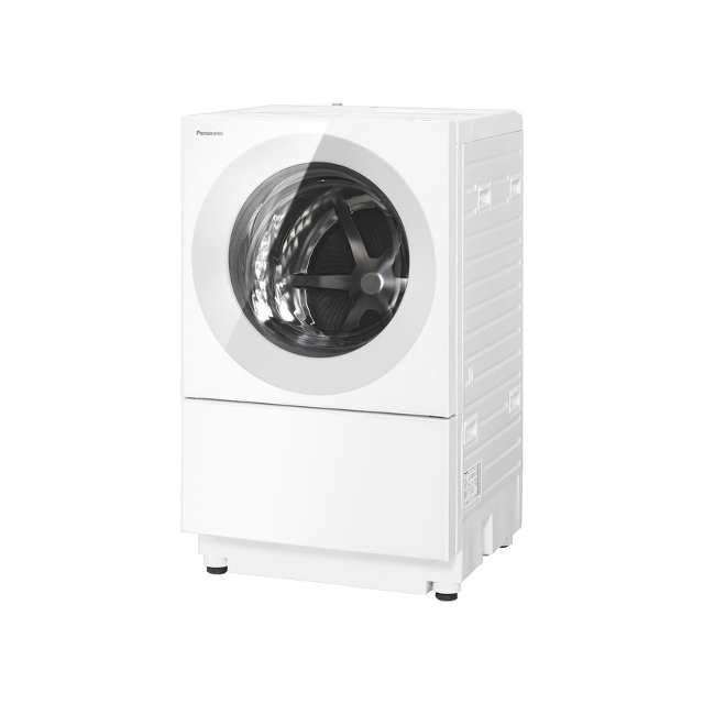 基本設置無料 東京23区近郊限定配送 パナソニック ななめドラム洗濯乾燥機 キューブル NA-VG750L-W 左開き 7kg マットホワイト