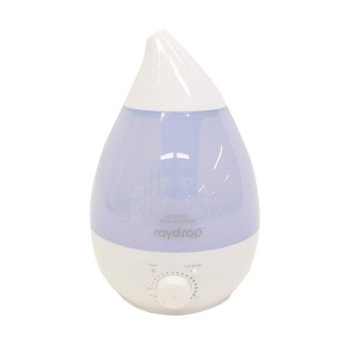 【送料無料】 ヒロ・コーポレーション 超音波アロマLED加湿器 レイドロップ KH-202WH ホワイト