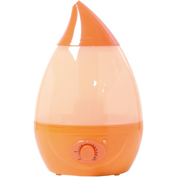 【送料無料】 エス・アイ・エス H20 超音波加湿器 ミスティ J22-OR 8~5畳用 オレンジ