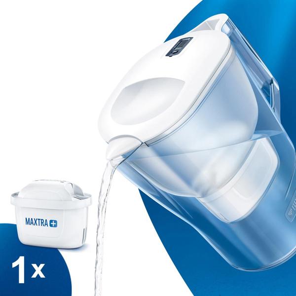 ブリタ KBALXW1Q ポット型 浄水器 アルーナ XL 3.5L ホワイト