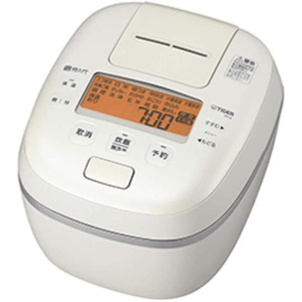 タイガー魔法瓶 圧力IHジャー炊飯器 炊きたて ご泡火炊き JPI-A100-WO 5.5合炊き オフホワイト