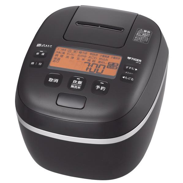 タイガー 圧力IH ジャー炊飯器 炊きたて 泡火ほうび炊き JPI‐G180〈KL〉 1升 ミネラルブラック