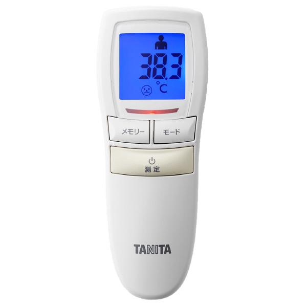 タニタ 非接触 体温計 BT‐544 アイボリー