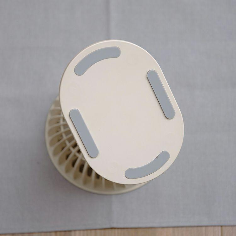 ライフ・オン・プロダクツ コードレス ミニリビングファン クリップタイプ PR-F058-OW オフホワイト