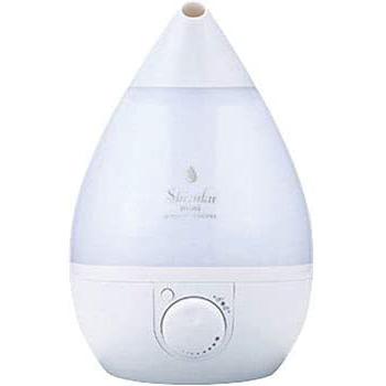 【送料無料】 アピックス Humidifier 超音波式アロマ加湿器 SHIZUKU touch+ AHD-021-WH ホワイト 4~8畳用