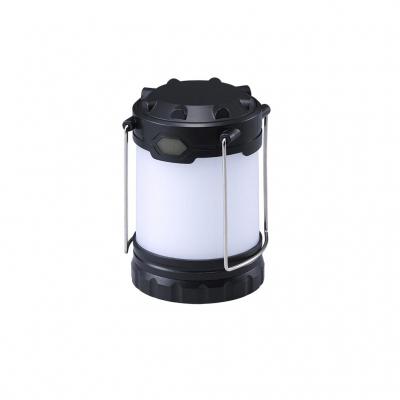 ヤザワ 2種類の乾電池が使える ランタン LA9B02BK ブラック