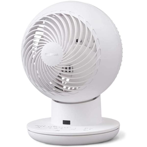 アイリスオーヤマ サーキュレーター アイ DC サイレント PCF-SDS15T-W 20畳 ホワイト