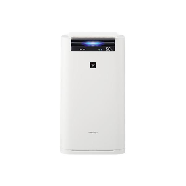 シャープ 加湿空気清浄機 KI-JS70-W 16畳 ホワイト系