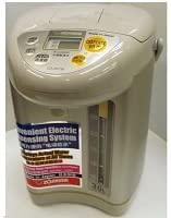 【送料無料】 象印マホービン マイコン電動給湯ポット CD-JST30-TL 海外向け 3L ライトブラウン