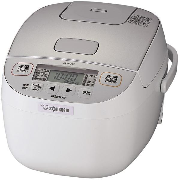 【送料無料】 象印マホービン 極め炊き NL-BC05-WA 0.5~3合炊き ホワイト