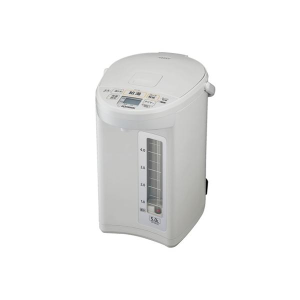 象印 マイコン 沸とう 電動ポット CD-SE50(WG) 5.0L ホワイトグレー