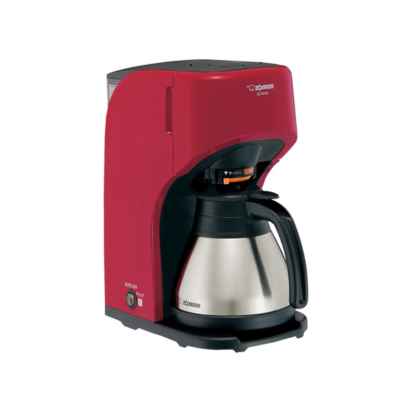 象印マホービン EC‐KV50(RA) コーヒーメーカー 珈琲通 675mL レッド