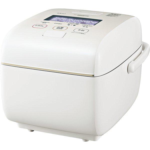 象印 圧力IH 炊飯ジャー 炎舞炊き NW‐LB18(WZ) 1升炊き 絹白
